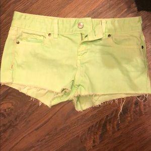 PINK neon shorts